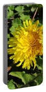 Ruffled Dandelion Portable Battery Charger
