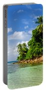 Rugged Lush Green Coastline Portable Battery Charger