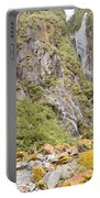 Rugged Mountain Wilderness Vegetation Portable Battery Charger