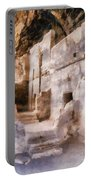 Ruins Portable Battery Charger by Michelle Calkins