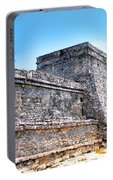 Ruins Of Tulum Mexico Portable Battery Charger