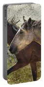 Running Free - Pryor Mustangs Portable Battery Charger