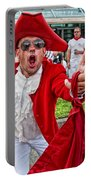 Running Of The Bulls New Orleans Matador Portable Battery Charger