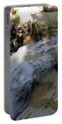 Running Waters Of Sabbaday Falls Portable Battery Charger