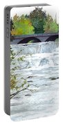 Rushing Water - Quiet Thoughts Portable Battery Charger
