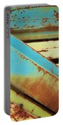Rust N Turquoise Portable Battery Charger
