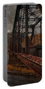 Rusted Bridge Portable Battery Charger