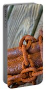 Rusted Chained Portable Battery Charger