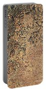 Rusted Metal Portable Battery Charger
