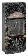 Rusted Old Tractor Portable Battery Charger