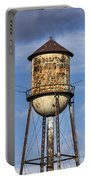 Rusted Water Tower Portable Battery Charger