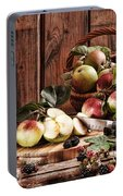 Rustic Apples Portable Battery Charger