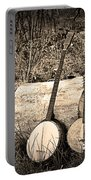 Rustic Banjos Portable Battery Charger