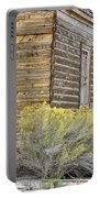 Rustic Building Portable Battery Charger