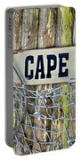 Rustic Cape Cod Portable Battery Charger by Bill Wakeley