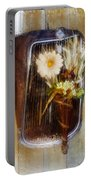 Rustic Romance Portable Battery Charger
