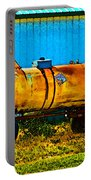 Rustic Tank Art Portable Battery Charger