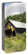 Rustic Vermont Covered Bridge Portable Battery Charger