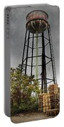 Rustic Water Tower Portable Battery Charger