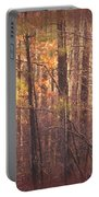 Rustic Winter Glow Portable Battery Charger