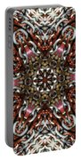 Rusty Chain Link Kaleido Portable Battery Charger