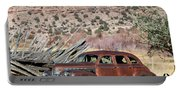 Rusty Chevrolet Special Deluxe In Manila Utah Portable Battery Charger