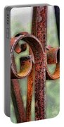 Rusty Curls Portable Battery Charger