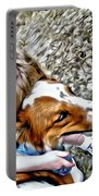 Rusty Dog Love Portable Battery Charger