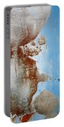 Rusty Door Abstract Portable Battery Charger