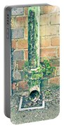 Rusty Drainpipe Portable Battery Charger