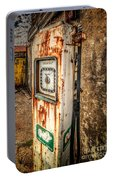 Rusty Gas Pump Portable Battery Charger