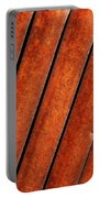 Rusty Hood Louvers Portable Battery Charger