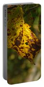 Rusty Leaf Portable Battery Charger