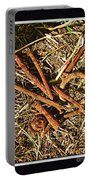 Rusty Nails Portable Battery Charger