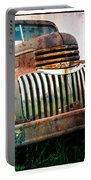 Rusty Old Chevy Pickup Portable Battery Charger