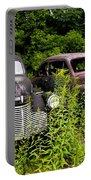 Rusty Old Transportation Portable Battery Charger