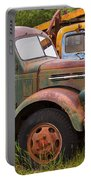 Rusty Old Trucks Portable Battery Charger