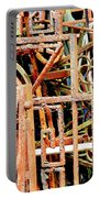 Rusty Railings Square Portable Battery Charger