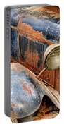 Rusty Vintage Automobile Portable Battery Charger