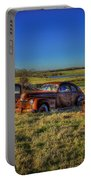 Rusty Westward Line Up Portable Battery Charger