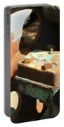 Rusty Wheel Gear Portable Battery Charger