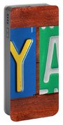 Ryan License Plate Name Sign Fun Kid Room Decor. Portable Battery Charger