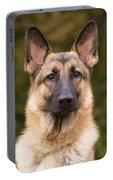 Sable German Shepherd Dog Portable Battery Charger