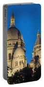 Sacre Coeur - Night View Portable Battery Charger
