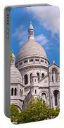 Sacre Coeur Basilica Paris France Portable Battery Charger
