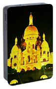 Sacre-coure Cathedral Paris  Portable Battery Charger