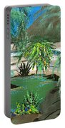 Sacred Cenote At Chichen Itza Portable Battery Charger