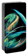 Sacred Feather Dance Portable Battery Charger