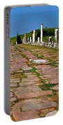 Sacred Road To Asclepion In Pergamum-turkey  Portable Battery Charger