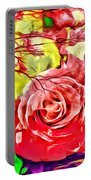 Sacred Roses Portable Battery Charger